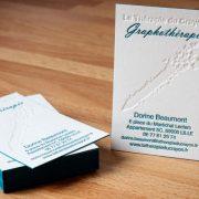 carte de visite graphotherapeute lille