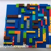 labyrinthe en lego