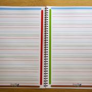 cahier pour dysgraphiques et dyspraxiques